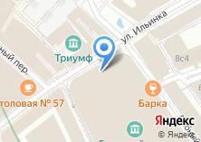 Компания «Амстердам» на карте