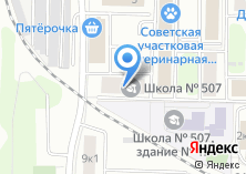 Компания «Судебная защита» на карте