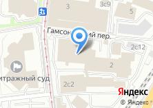 Компания «Инсофт» на карте
