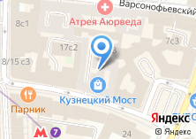 Компания «Мультивиза-Визовый Центр» на карте