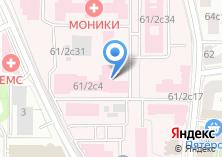 Компания «МЕДСИН-МОНИКИ» на карте