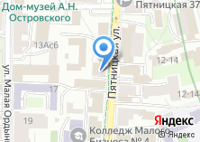 Компания «Банк Народный кредит» на карте