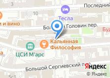 Компания «INDEVER» на карте
