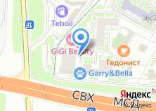 Компания «80 колес» на карте