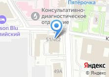 Компания «Kyocera» на карте