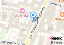 Компания «Лубянка» на карте