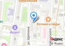 Компания «Центр лицензионно-разрешительной работы ГУ МВД России по г. Москве» на карте