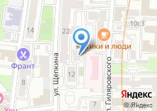 Компания «Сканиа» на карте