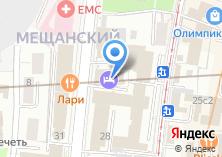 Компания «Галерея» на карте