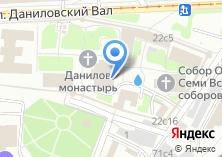 Компания «Храм Троицы Живоначальной в Даниловском монастыре» на карте
