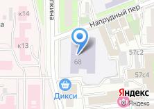 Компания «Средняя общеобразовательная школа №235» на карте