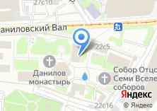 Компания «Храм Серафима Саровского в Даниловском монастыре» на карте