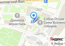 Компания «Накладезная часовня Данилова Монастыря» на карте