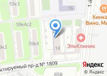 Компания «Дом на Нагатинской» на карте