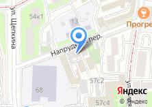 Компания «Мосэкспертиза» на карте
