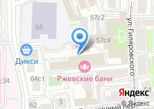 Компания «Ржевские бани» на карте