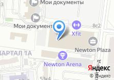 Компания «Строящееся административное здание по ул. Нагатинский 1-й проезд» на карте