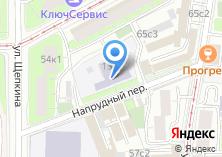 Компания «Детский сад №1589» на карте