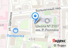 Компания «ТехноНИКОЛЬ-Финанс» на карте
