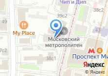 Компания «Ремонт окон Проспект Мира» на карте