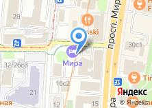 Компания «Мира» на карте
