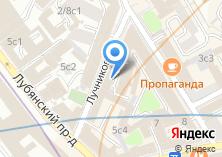 Компания «ИКС» на карте