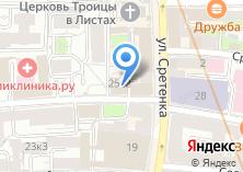 Компания «BREVITOR Сonstruction» на карте