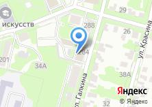 Компания «Авторейс» на карте