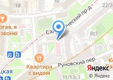 Компания «Пион» на карте