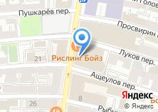 Компания «Унисервис» на карте