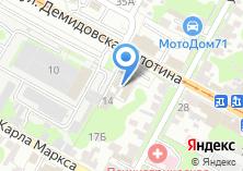 Компания «Стеклодекор» на карте