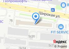 Компания «ПакТрейд» на карте