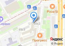 Компания «АСТРАР» на карте