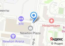 Компания «X-Fit Нагатинская» на карте