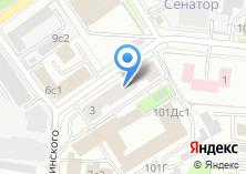 Компания «МАКТОР» на карте