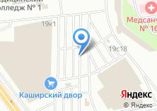 Компания «Каширский двор-1» на карте