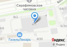 Компания «ЭКОЛОГИЯ-ТЕХРЕСУРС» на карте