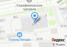 Компания «ТЕРМЕХ» на карте