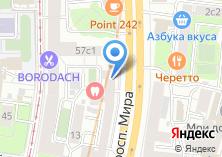 Компания «Восточный мир» на карте