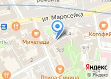 Компания «ИнТурСтудия» на карте