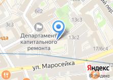 Компания «Постамент» на карте
