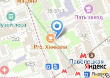 Компания «На Новокузнецкой» на карте