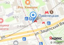 Компания «Магазин цветов на Новокузнецкой» на карте