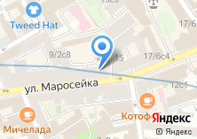 Компания «Добрая аптека» на карте