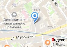 Компания «Шуваловские окна» на карте
