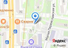 Компания «Ремонт окон Рижская» на карте