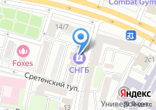 Компания «Сургутнефтегазбанк» на карте