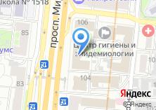 Компания «Софтис» на карте
