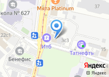 Компания «АКБ «Инвестторгбанк»» на карте