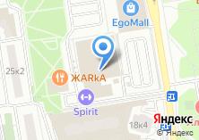 Компания «Ананас» на карте